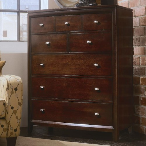 American Drew Tribecca 5 Drawer Chest Wayside Furniture Drawer Chests