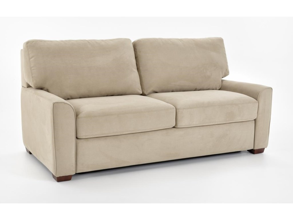 Comfortable sleeper sofa leather for Comfortable sofas and chairs