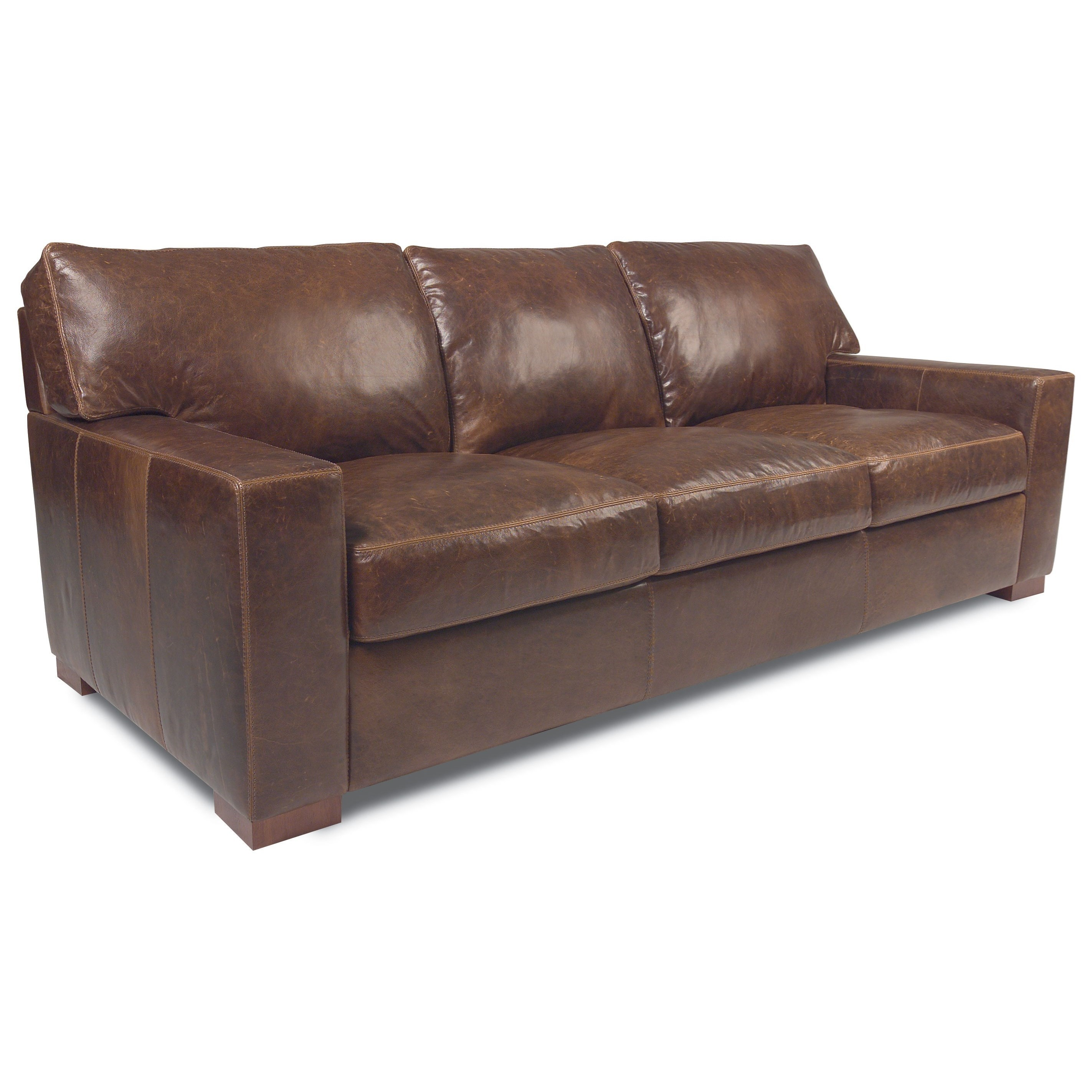 American Leather Danford Contemporary Sofa With Deep Seats