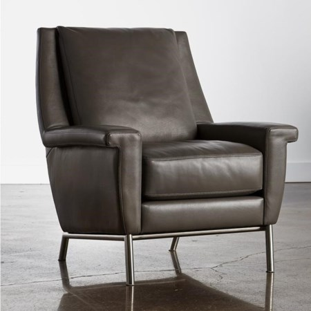 Contemporary Customizable Accent Chair