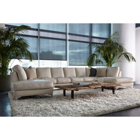 Contemporary 6-Seat U-Shape Sectional