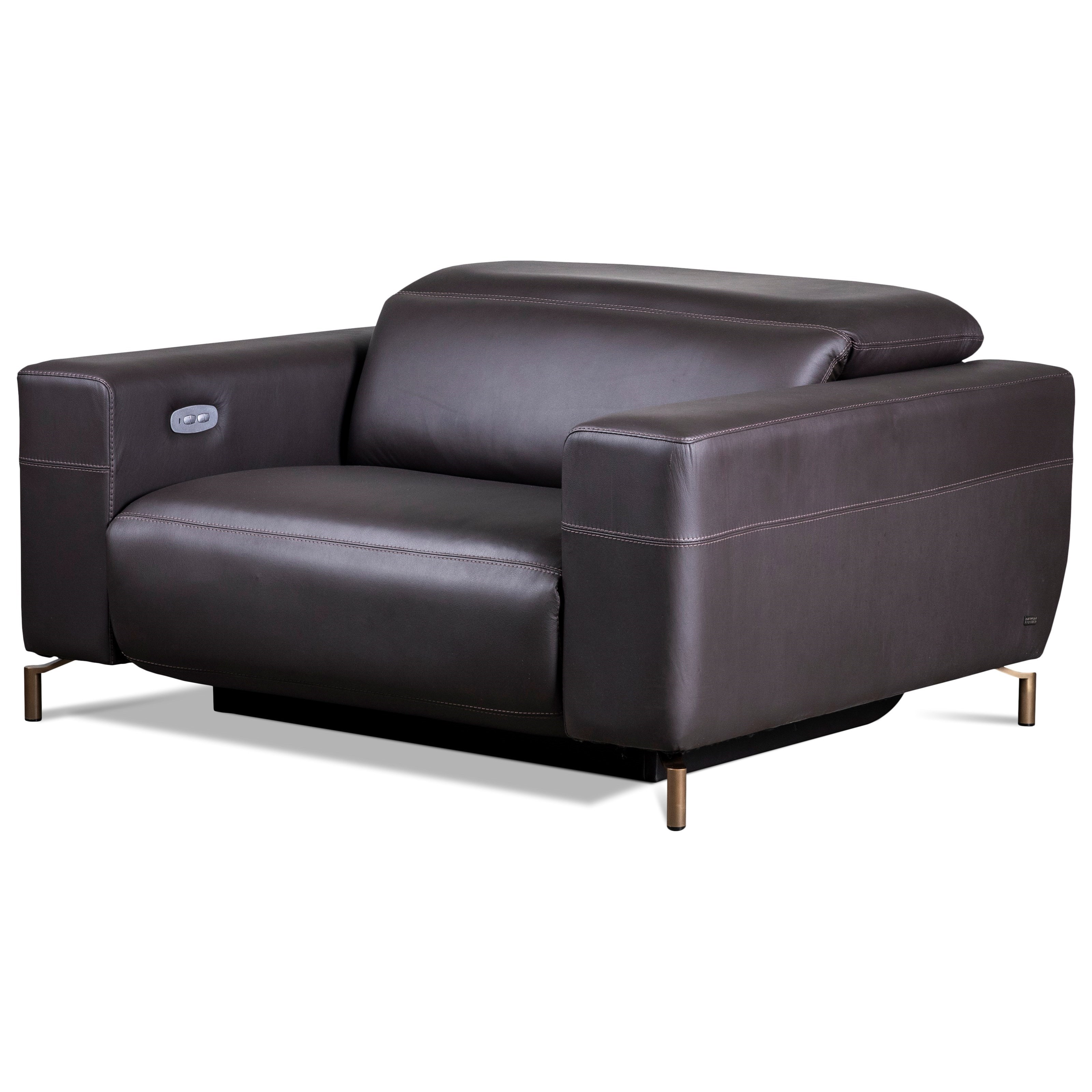 American Leather Monza Contemporary European Style Oversized