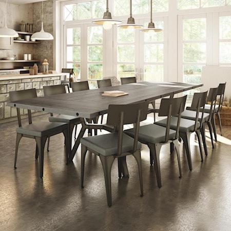 Customizable Southcross Dining Table Set
