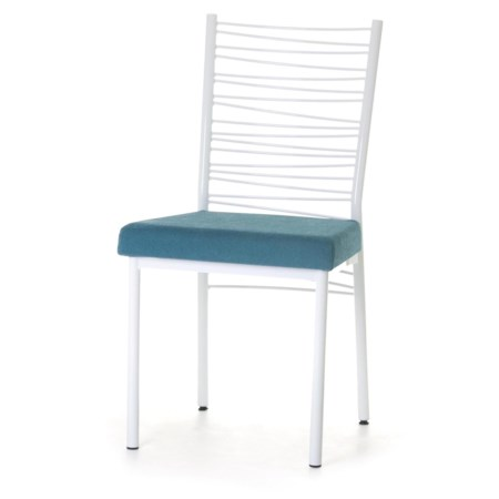 Customizable Crescent Dining Side Chair