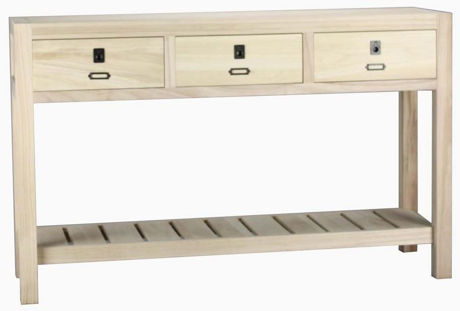 Archbold Furniture Allwood Accents Solid Wood Sofa Table