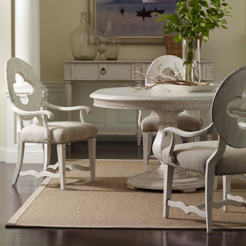 A r t furniture inc collection one 5 piece keton round for K and t dining 98 inc