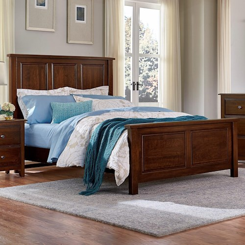 Artisan Post Artisan Choices King Panel Bed Wayside Furniture Panel Beds