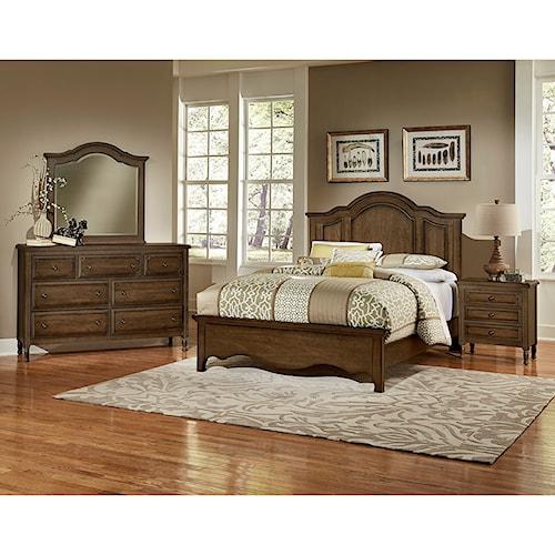 Artisan Post Hamptons Queen Bedroom Group Belfort Furniture Bedroom