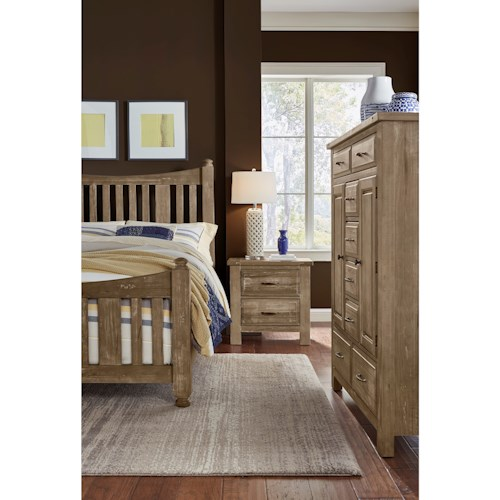 Artisan Post Maple Road Queen Bedroom Group Wayside Furniture Bedroom Groups