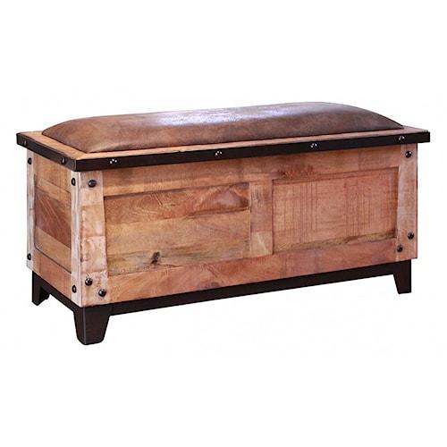 International furniture direct maya bedroom storage trunk for Furniture 500 companies