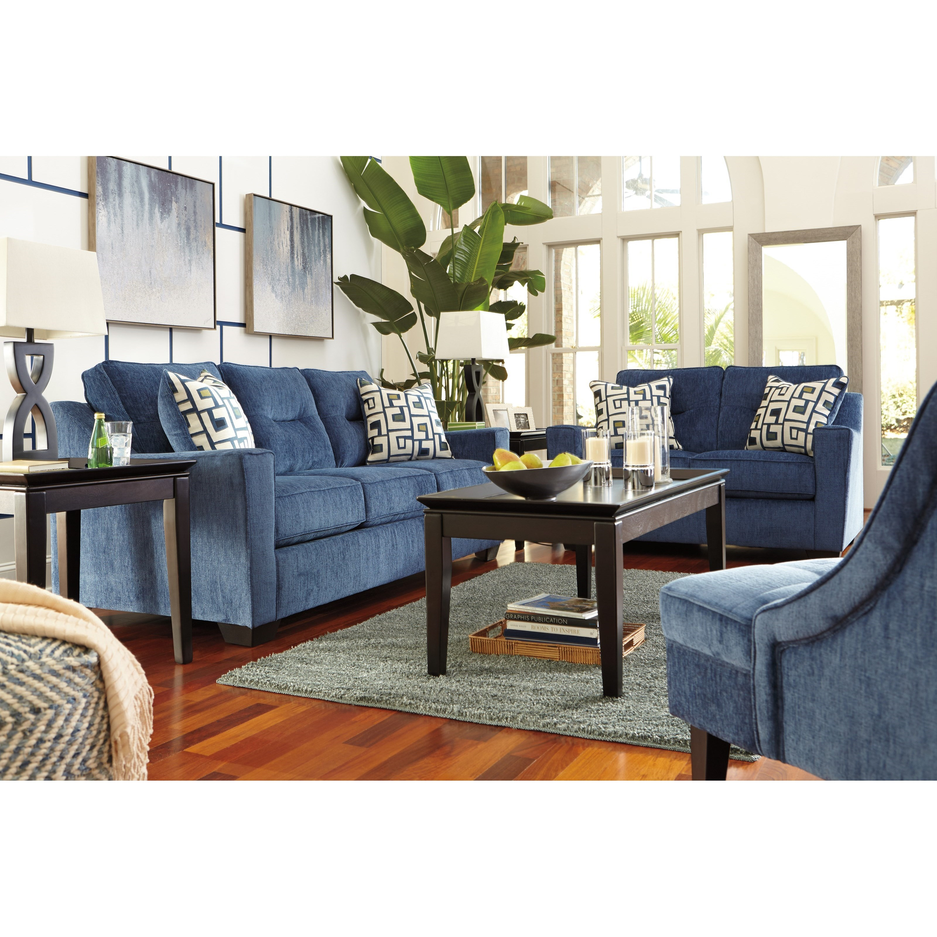 Ashley Furniture Cerdic Stationary Living Room Group L