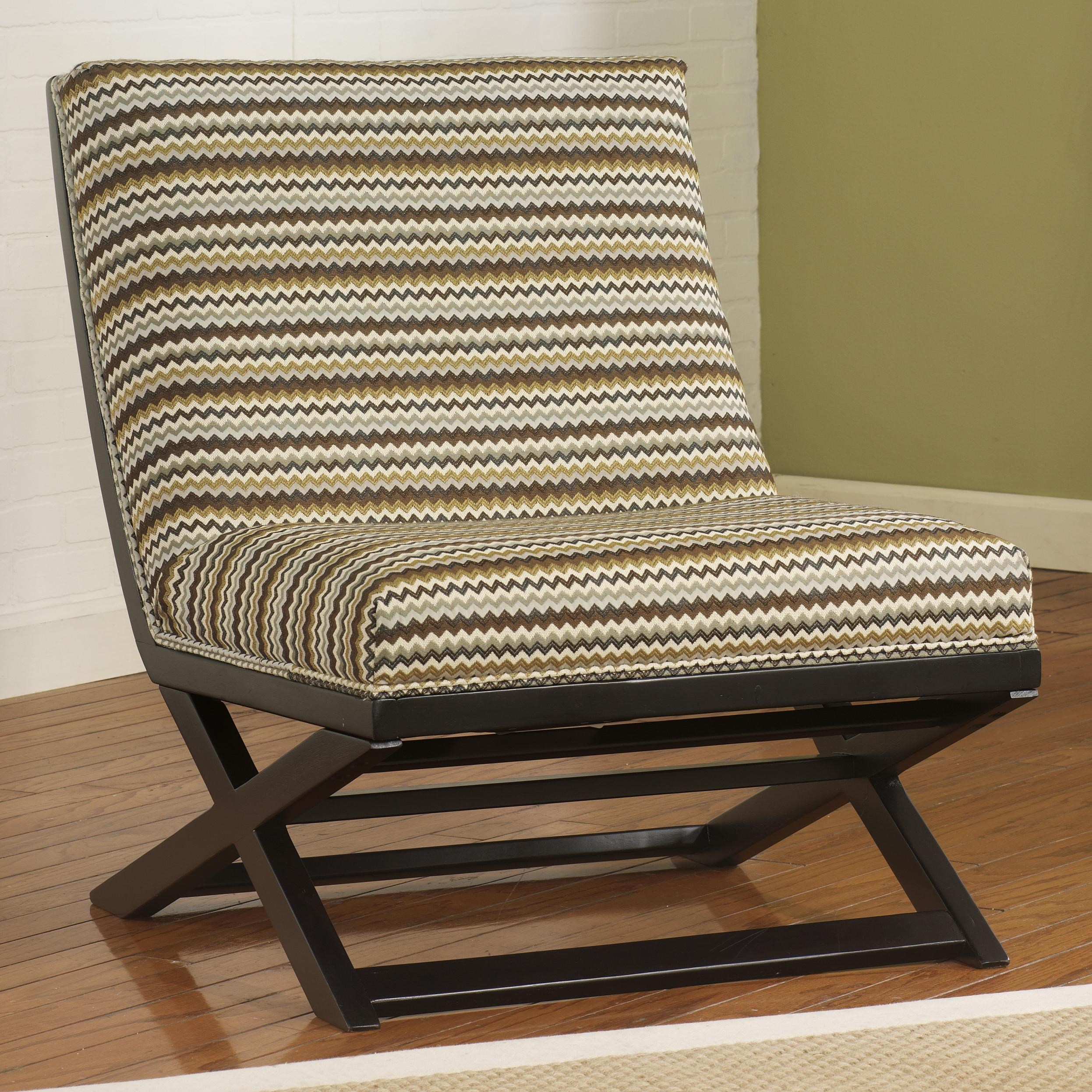 Corley Armless Accent Chair Walker s Furniture