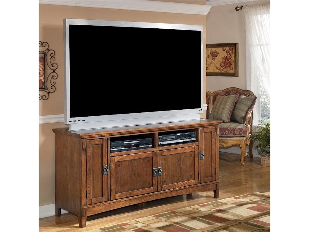 Welp Ashley Furniture Cross Island W319-38 60 Inch Oak TV Stand with GF-99