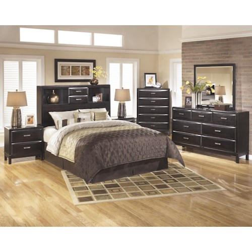 Ashley Furniture Kira B473 46 Chest: Ashley Furniture Kira Queen Bedroom Group