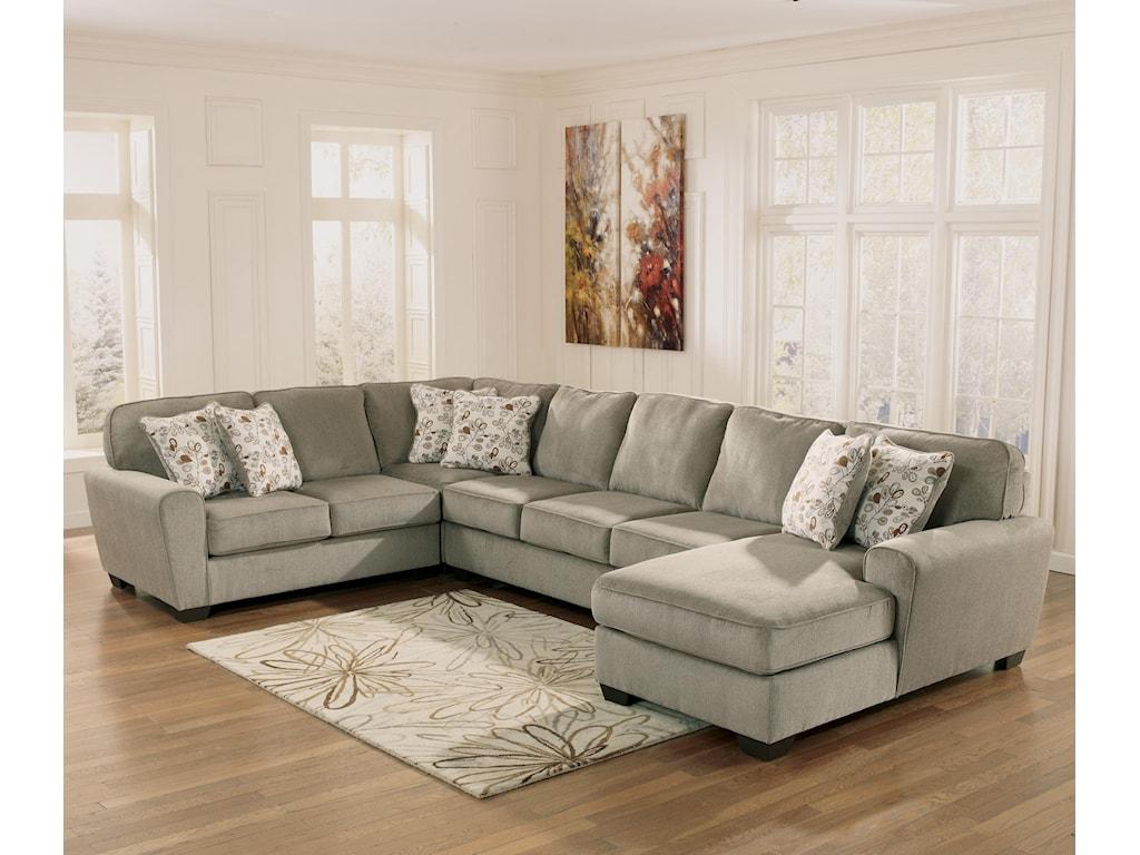 Ashley sofa sectional ashley signature design alenya for Ashley large sectional sofa