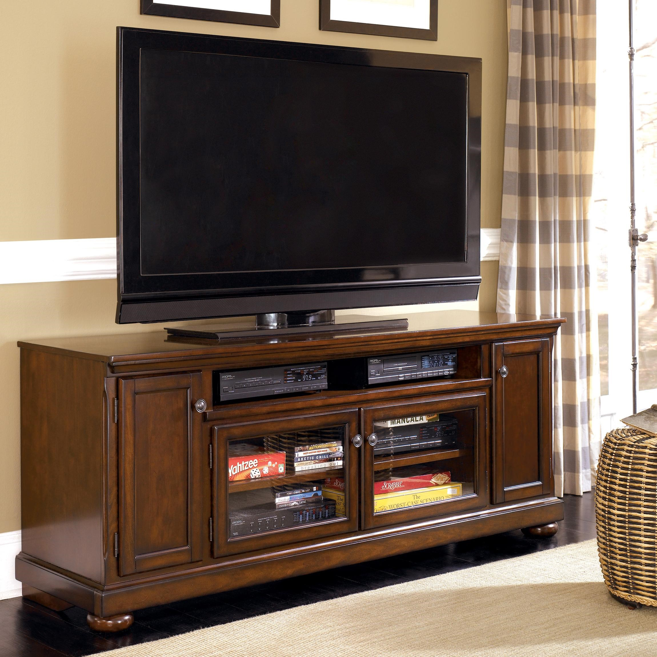 """Ashley Furniture Porter 72"""" Extra TV Stand"""
