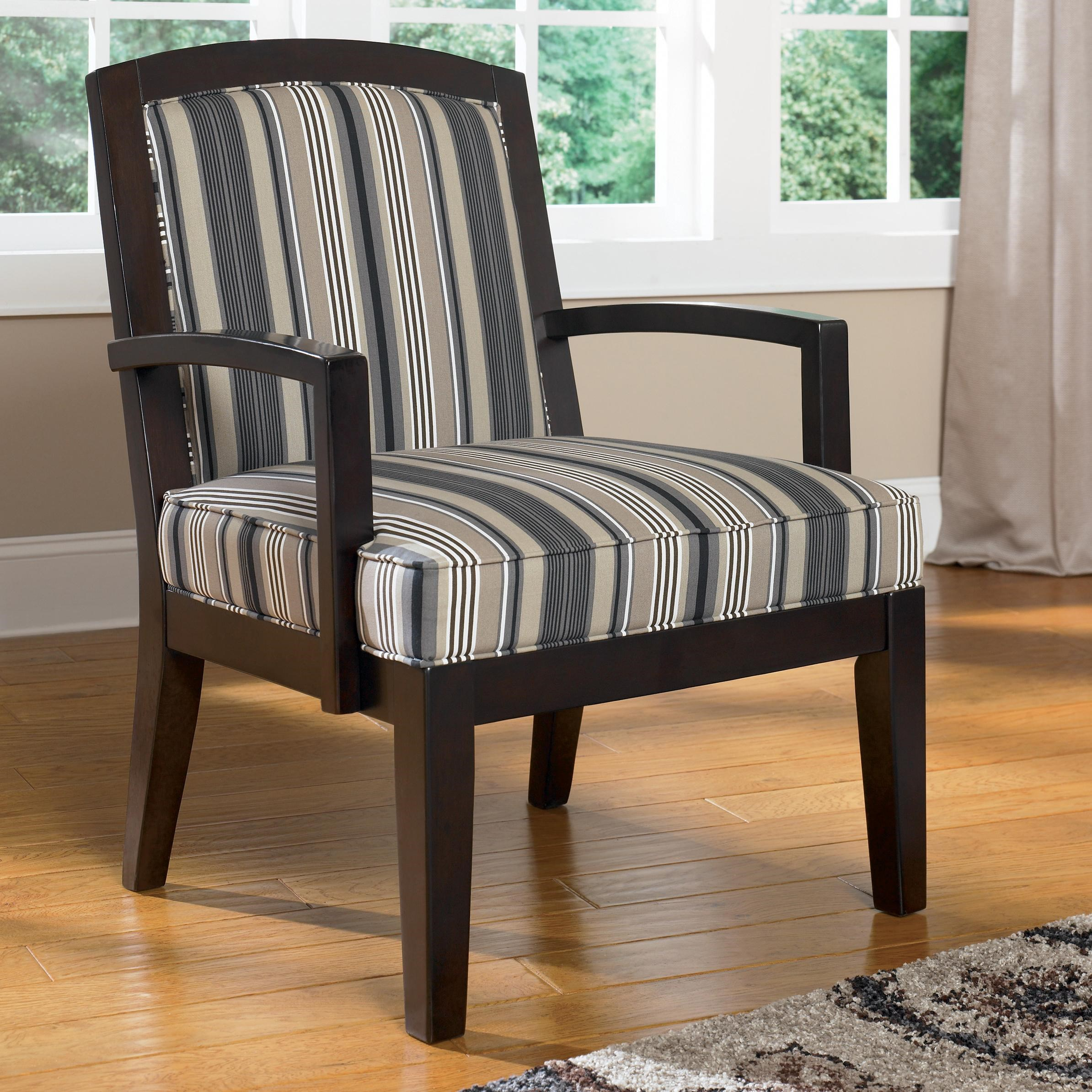 Ashley Furniture Yvette Steel Showood Accent Chair w