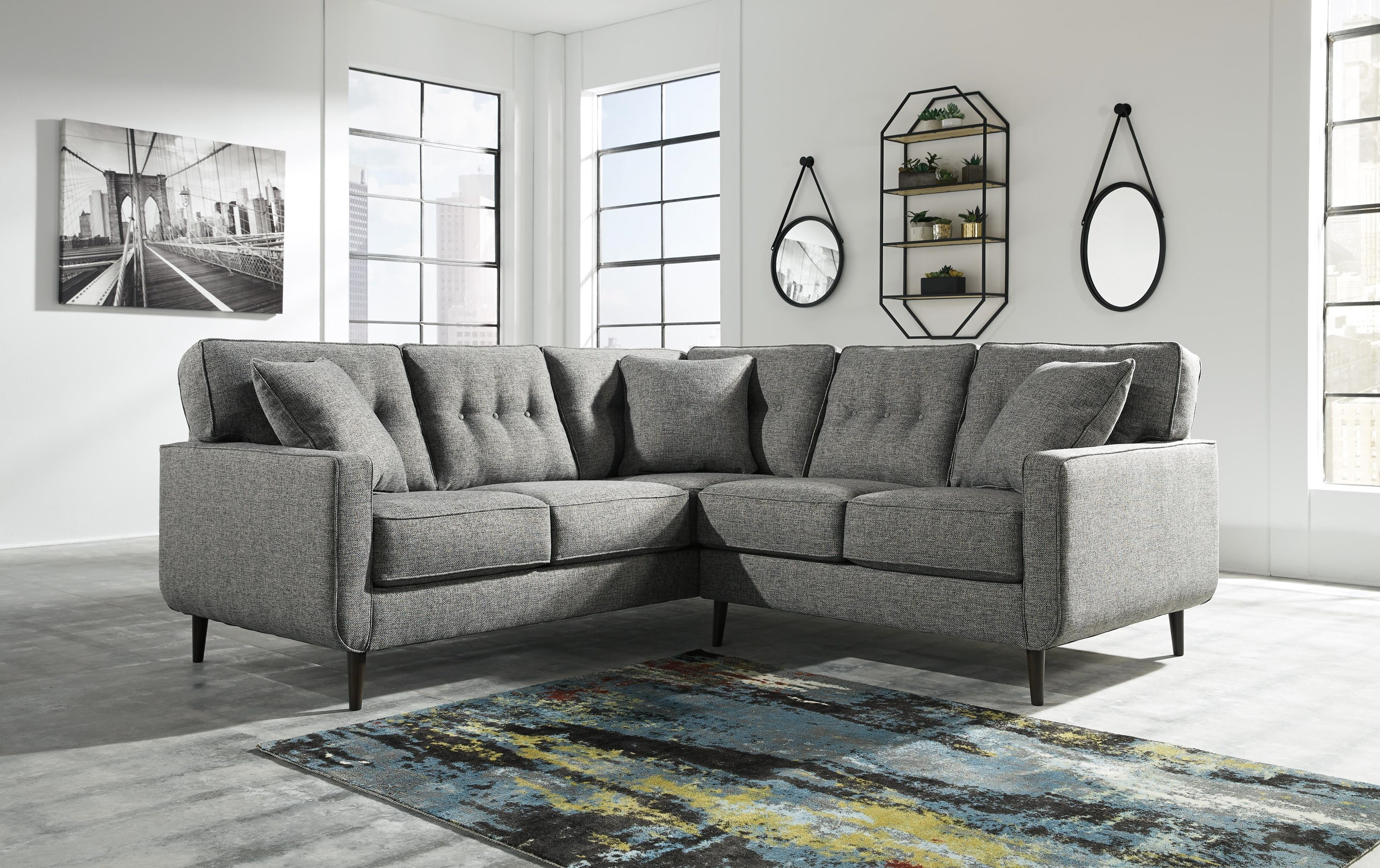 Zardoni 2 Piece Sectional With Left Arm Facing Sofa