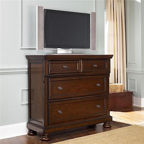 Ashley Furniture Porter B697 39 Media Chest Northeast