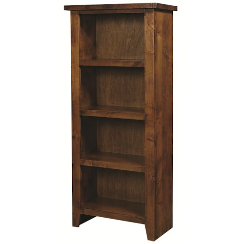 Aspenhome Alder Grove 4 Shelf Pier Bookcase Wilson 39 S Furniture Open Bookcase Bellingham
