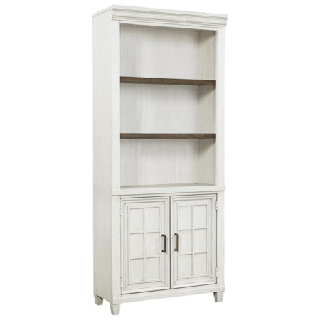 Casual Open Door Bookcase with Adjustable/Removable Shelving