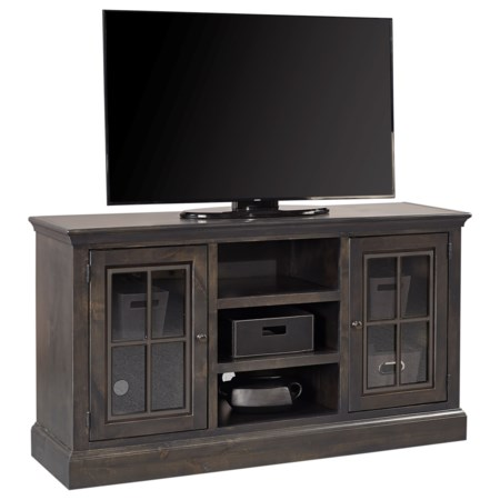 """Casual 59"""" Console with 2 Doors"""