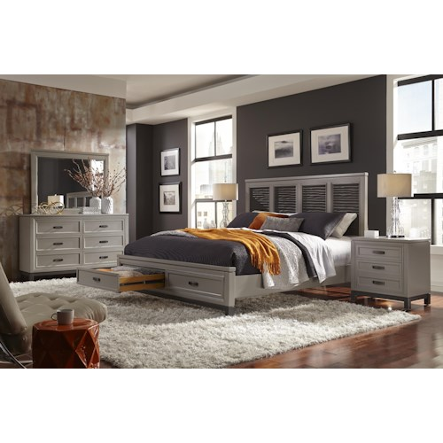 Aspenhome Hyde Park California King Bedroom Group Belfort Furniture Bedroom Group