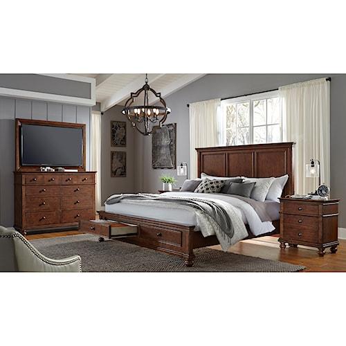 Aspenhome Oxford Queen Bedroom Group Bullard Furniture Bedroom Groups Fayetteville Nc
