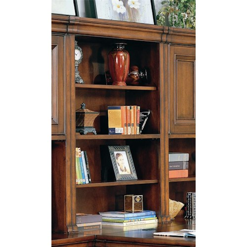 Aspenhome Richmond Hutch With Open Shelves Bullard Furniture Hutch Fayetteville Nc