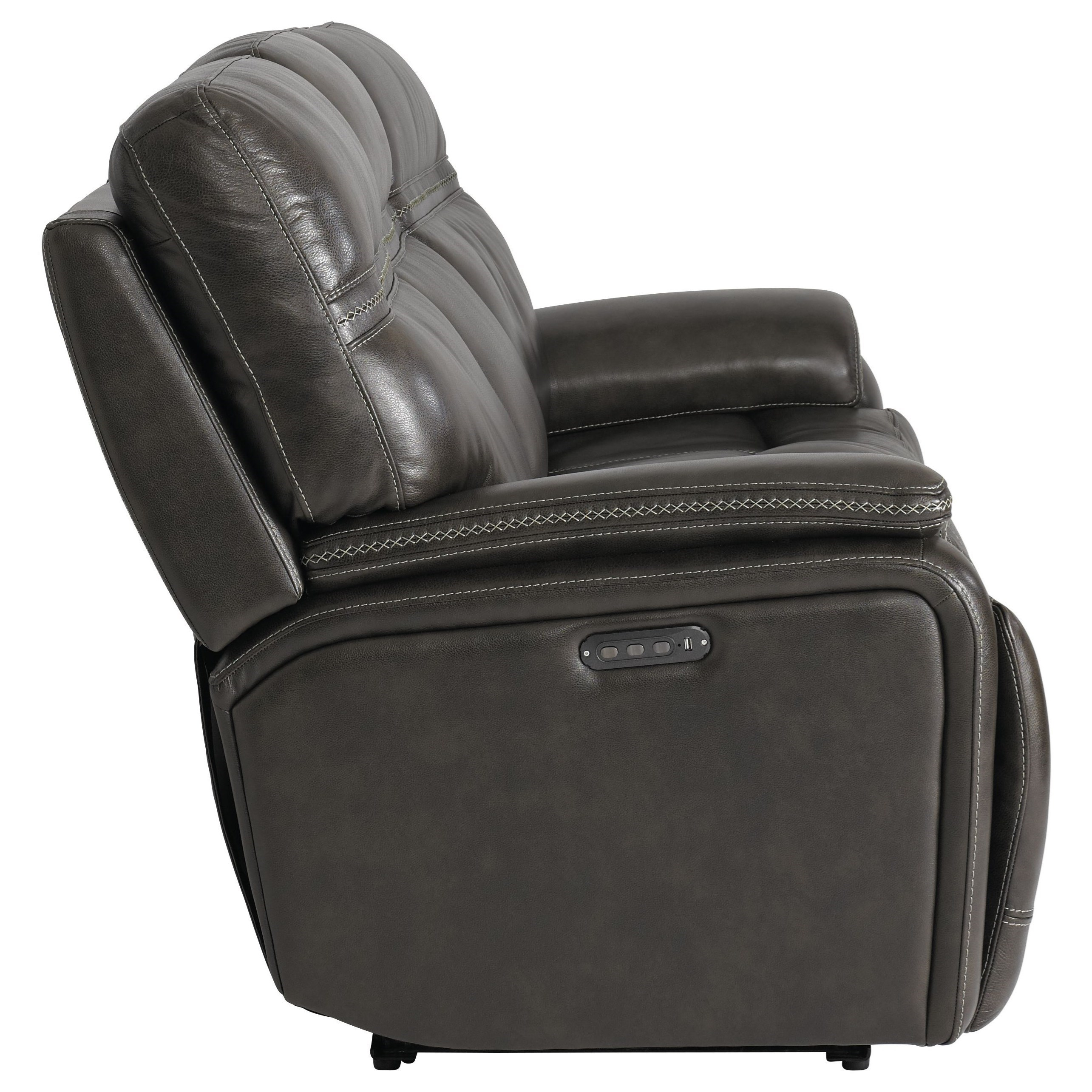 Bassett Club Level Grant Casual Power Reclining Sofa with
