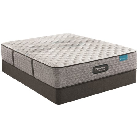 """Twin 13 1/2"""" Extra Firm Pocketed Coil Mattress and 9"""" Foundation"""