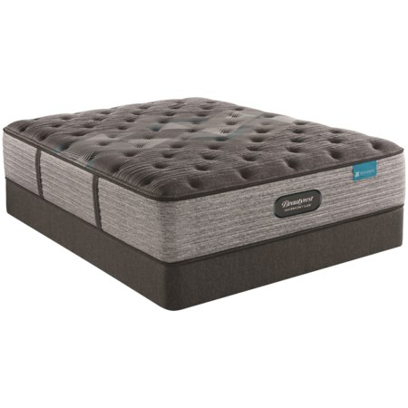 """Twin 15"""" Plush Premium Pocketed Coil Mattress and 9"""" Foundation"""