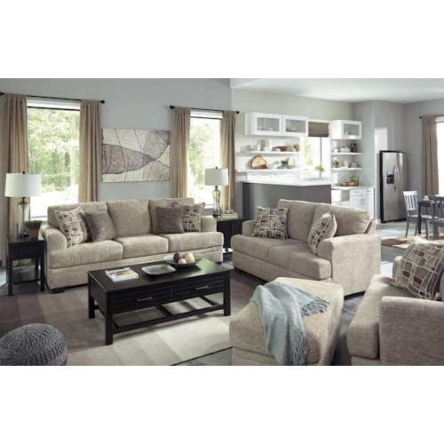 Benchcraft Barrish Stationary Living Room Group Wayside