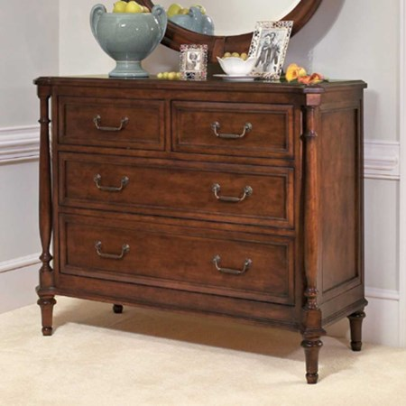 Four Drawer Hall Chest