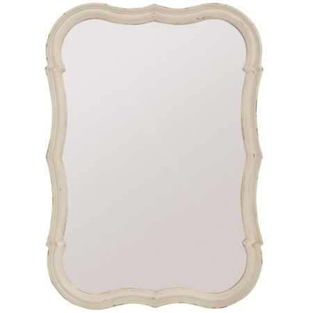 Wall Mirror with Shaped Frame