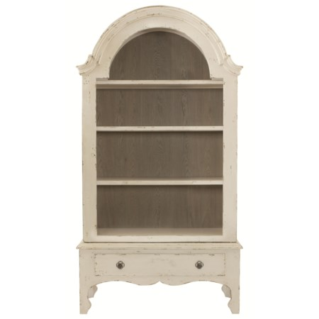 Display Cabinet with 3 Shelves and Drawer