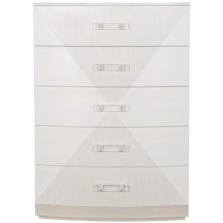 Contemporary Chest of Drawers with 6 Drawers
