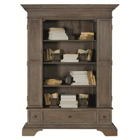 Bold and Handsome High End Bookcase