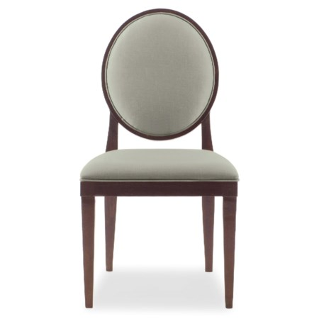Side Chair with Oval Back