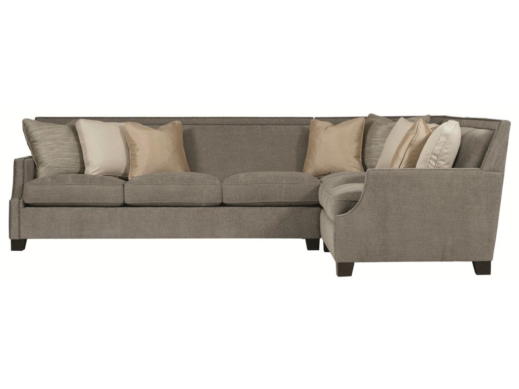 Bernhardt franco sectional sofa refil sofa Bernhardt living room furniture