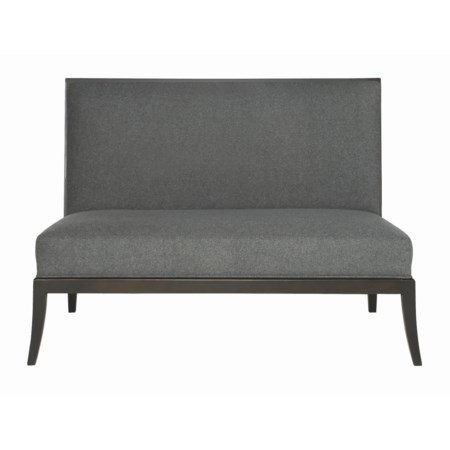 High-Back Upholstered Bench