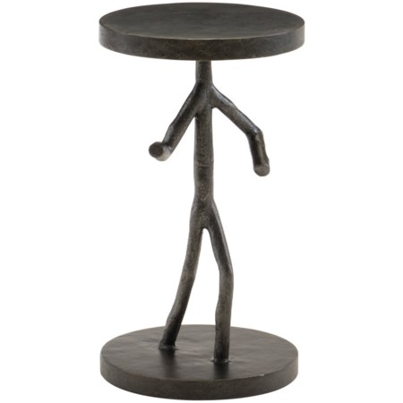 Cast Iron Figure Table