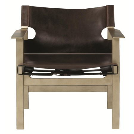 Aspen Directors Chair with Leather Buckle
