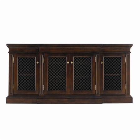 (4) Door Riverdale Breakfront Media Console