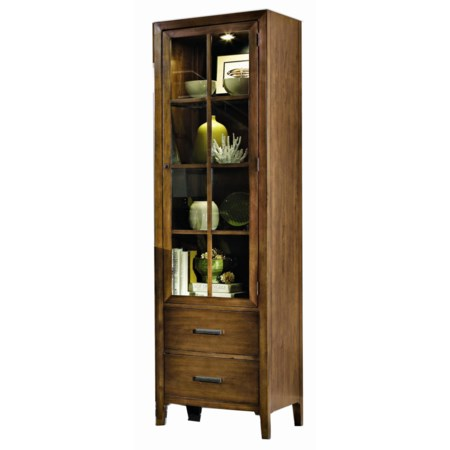 2-Drawer Right Pier Cabinet