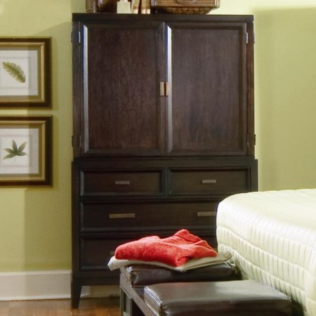 Chest Armoire with 4 Drawers