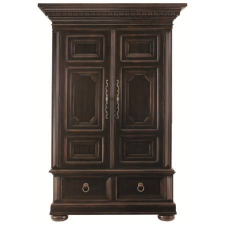 Armoire with Dentil Molding