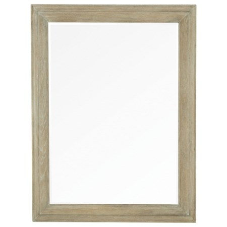 Rustic Mirror with Beveled Edge