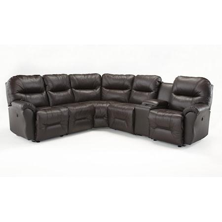 Six Piece Reclining Sectional Sofa