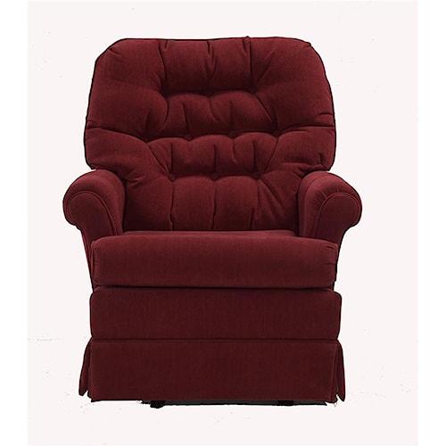Best Home Furnishings Chairs Swivel Glide Marla Swivel Rocker Chair Boulevard Home